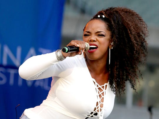 Leela James will be one of the artists appearing at the Bluff City Jazz Festival at the Cannon Center on Monday.