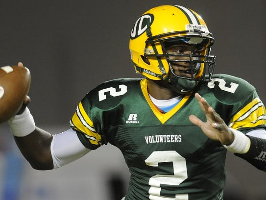 KD Humphries played his final year of high school ball