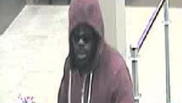 Police released this image Thursday of a Chase Bank robbery suspect.