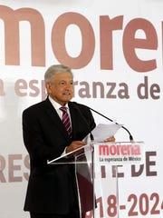 Andrés Manuel López Obrador enlistó los compromisos que adoptaría a partir del 1 de diciembre del 2018.