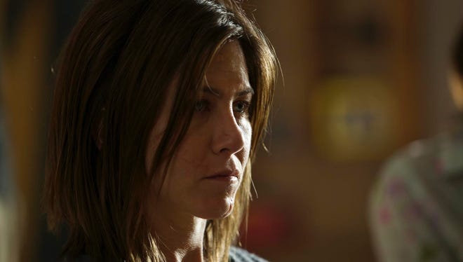 Cinelou Films A scarred Claire (Jennifer Aniston) battles her inner demons. Jennifer Aniston stars in the motion picture CAKE.  HANDOUT CREDIT: Cinelou Films [Via MerlinFTP Drop]