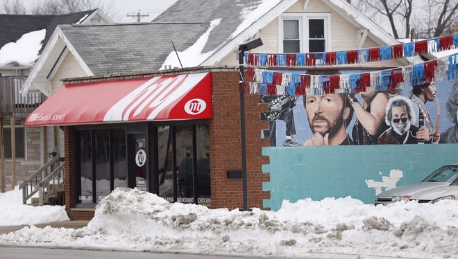 A man allegedly stole two guitars from Mike's Music & Sound in Fond du Lac on Wednesday.