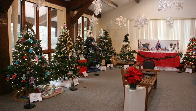 The Festival of Trees at the  Environmental Education Center, 190 Lord Stirling Road in Basking Ridge, NJ from December 2 to 28, 2016.