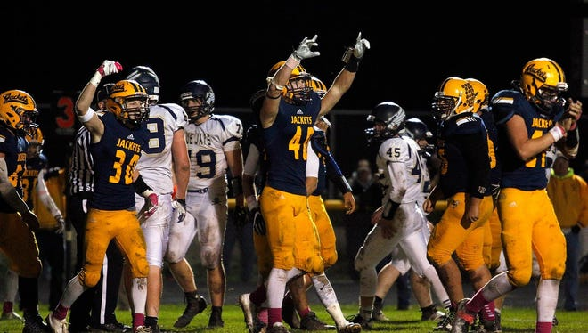 Ithaca is the top-ranked team in Division 6 in the inaugural Associated Press state football poll of the season.