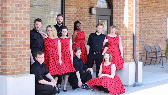 The 2018 cast of Mill Street Live pose for a promotional picture.