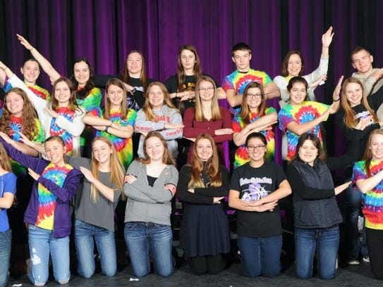 Two Rivers High School has a cooperative peer leadership
