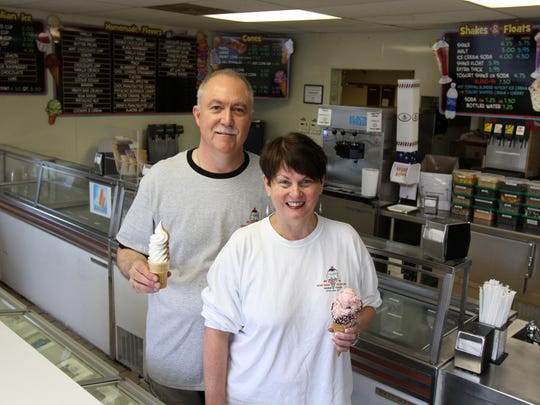 Peter and Elizabeth Ryan have owned Ryan's Homemade Ice Cream in Tinton Falls since 1988.