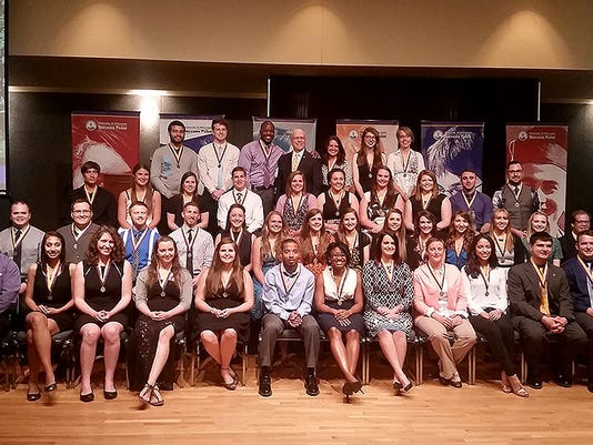 UWSP Leadership awards