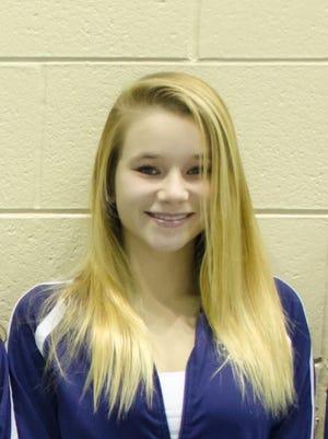 East Lansing sophomore Mary Phillips