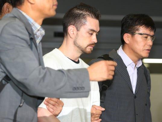 AP SOUTH KOREA US MURDER SUSPECT I FILE KOR