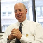 Brian Carley, former president and CEO of Cincinnati USA Regional Chamber, discusses his goals in an interview in May.