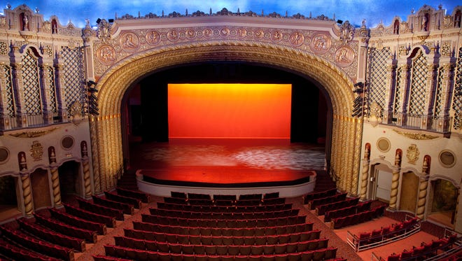 Attendees at shows at the Orpheum are treated to a state-of-the-art theater with historic architectural details.