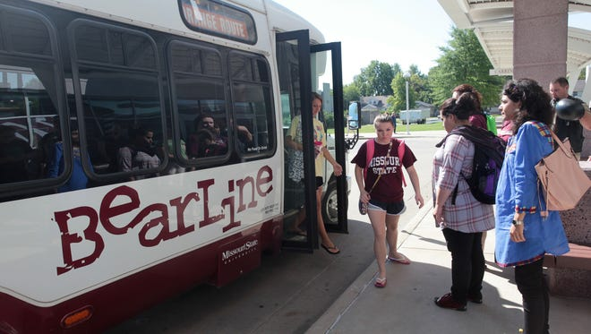 """Bear Line is a contract bus service provided by Fisk Transportation. Owner Jan Fisk said Georgia Perkins was like a grandmother to her passengers. """"We always do a survey at the end of the year and there always were comments that 'we love Georgia,'"""" Fisk said."""