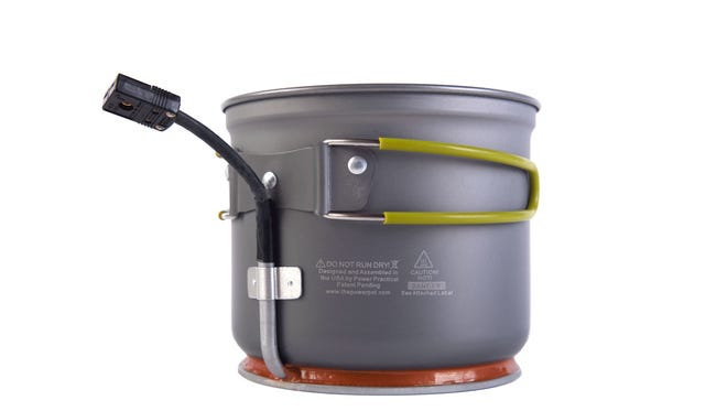 The Power Pot costs about $150.