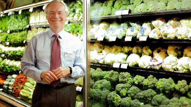 Kroger CEO Rodney McMullen inside of the company's Anderson Township location.