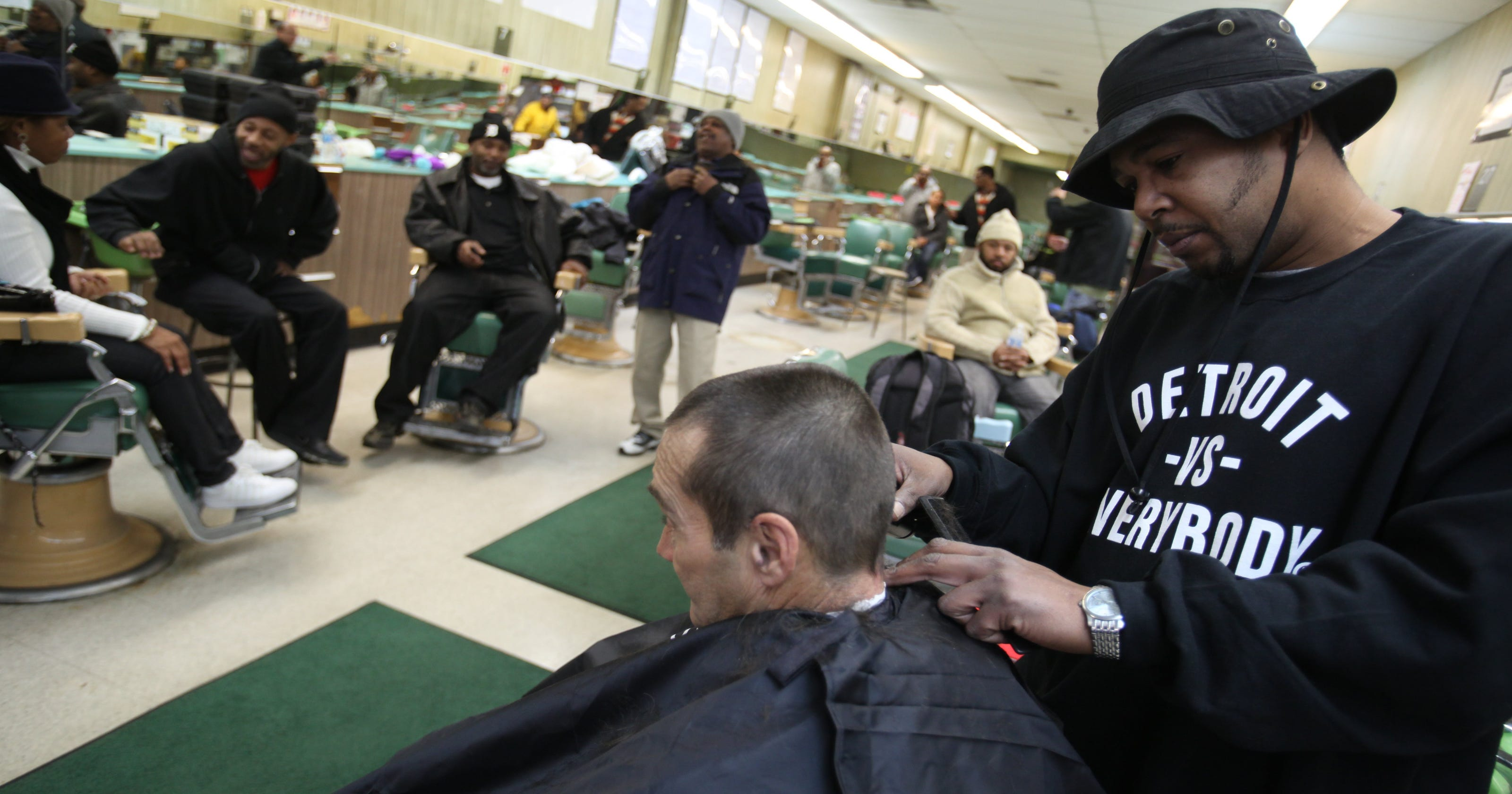 Detroit Area Barber Hopes To Make World Record Cut