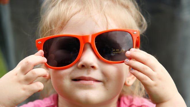 According to the American Academy of Ophthalmology —  which recommends hats and sunglasses for anyone exposed to the sun — UV radiation is just as detrimental to the eyes as it is to the skin, with a cumulative effect that can lead to problems in adulthood.