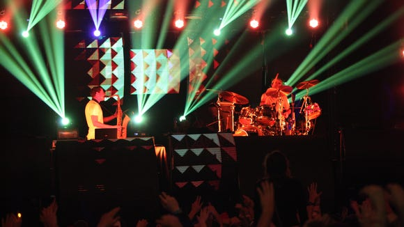After performing at last summer's Firefly Music Festival, Big Gigantic will return again this year.
