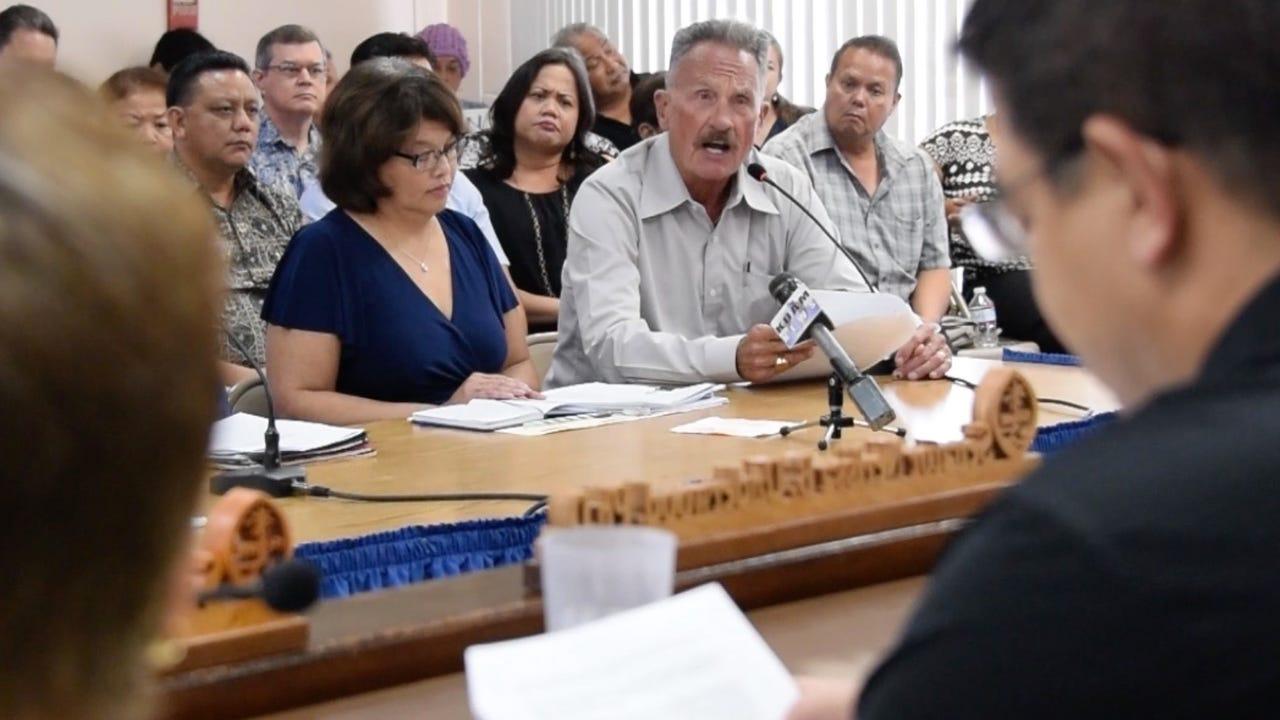 Former senator testifies during child abuse statute public hearing