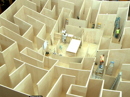 The BIG Maze