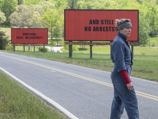 AP FILM REVIEW THREE BILLBOARDS OUTSIDE EBBING MISSOURI A ENT