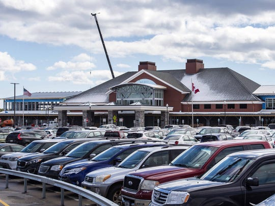The Plattsburgh International Airport, seen on Friday, March 18, 2016, is in the midst of a two-year expansion project.