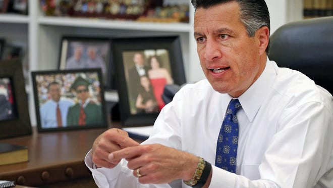 Gov. Brian Sandoval proposes a budget that uses federal funds to increase overall health spending and that includes cuts to Nevada's mental health department.