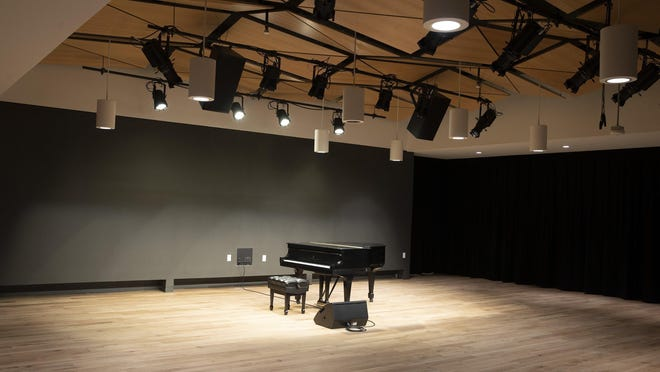 The Draylen Mason Studio in the new KMFA building will significantly expand the classical station's ability to present in-house events.