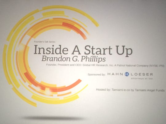 Brandon Phillips, founder, president and CEO of Global