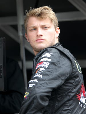 Sage Karam has tried to make sense of last weekend's IndyCar Series crash that led to Justin Wilson's death