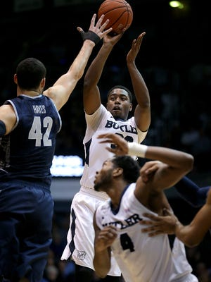 Butler's Kelan Martin (shooting) was one of the nation's top sixth men until recently, when he moved into the starting lineup in the absence of sidelined Tyler Lewis.
