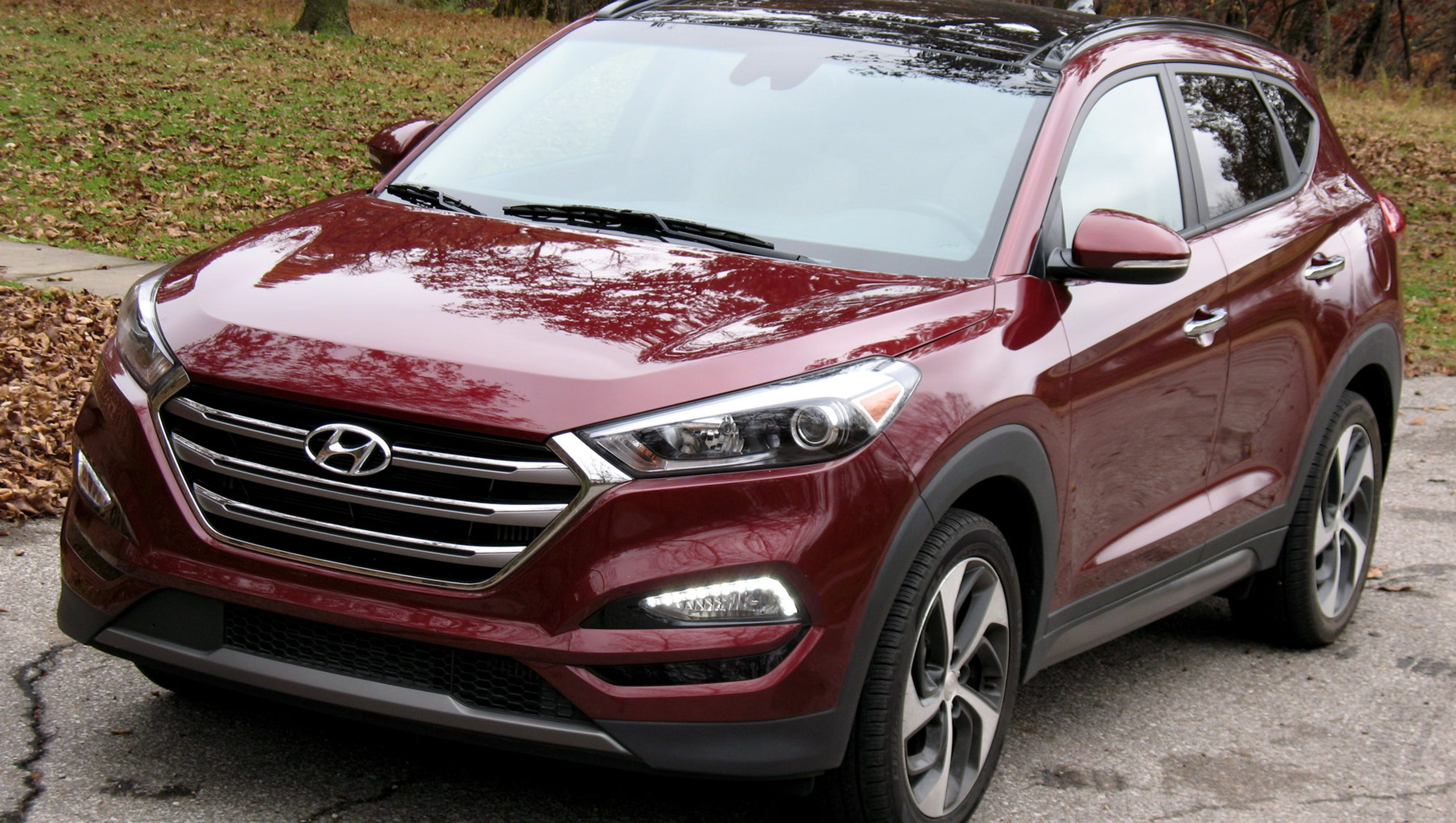 2016 Hyundai Tucson Is Edgy Stylish