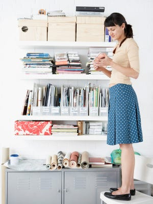 Getting organized is one of the most common resolutions people make in the new year.