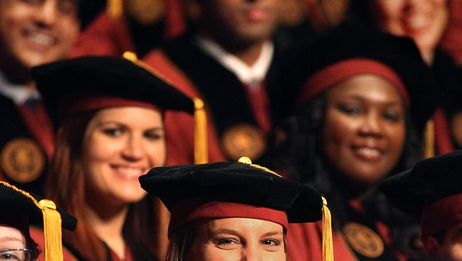 File photo of 2012 graduation of the FSU College of Medicine