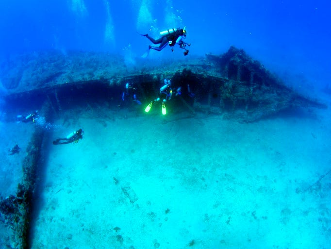 While most wreck dive sites have some drama attached