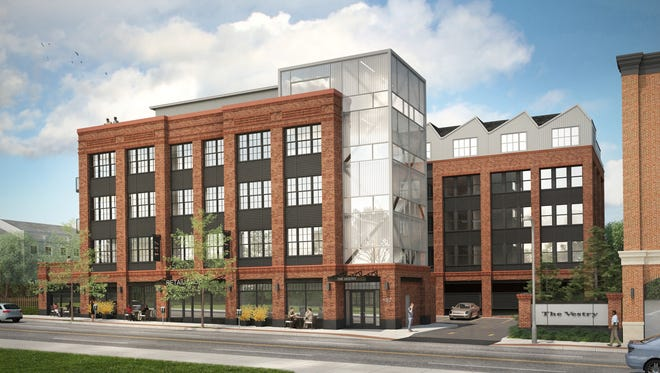 The Vestry at 147 Bloomfield Ave. will consist of 46 rental units and retail on the bottom floor.