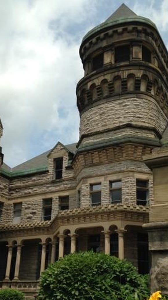 Ohio State Reformatory, made famous in the 1994 film Shawshank Redemption.