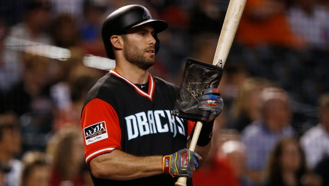 First baseman Paul Goldschmidt of the Diamondbacks is having another outstanding season.