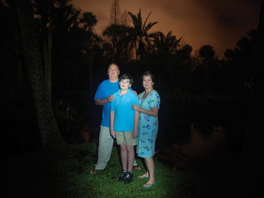 "This portrait of a family, titled ""Longwood, Florida"