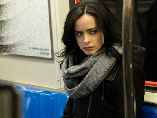 "Krysten Ritter in Marvel's ""Jessica Jones."""