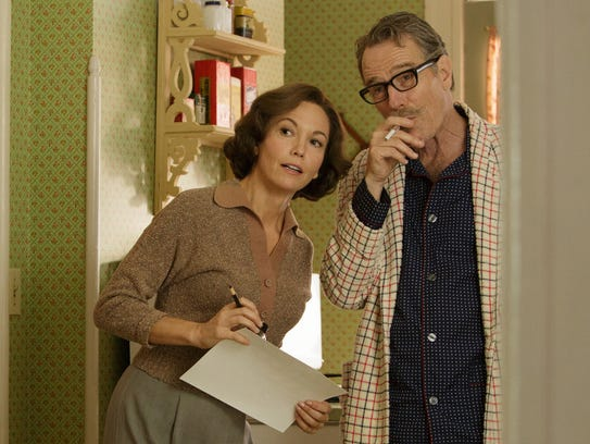 Diane Lane as Cleo Trumbo and Bryan Cranston as Dalton