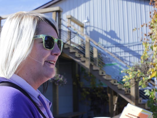 Kristine Morse is a co- owner of Dark Horse Brewing,