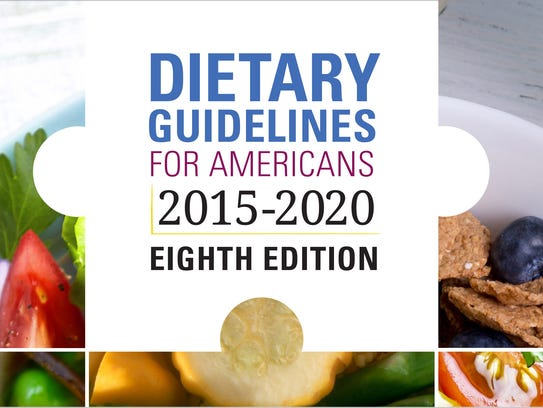 New Dietary Guidelines for Americans were released