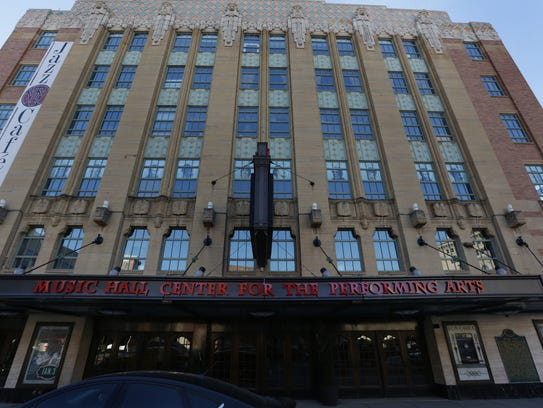 Music Hall Center For The Performing Arts in Detroit,