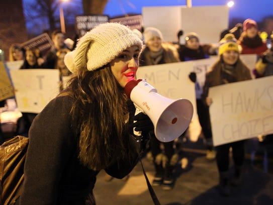 On Tuesday, Jan. 26, at 5:38 p.m., University of Iowa
