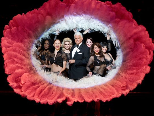 "John O'Hurley and the cast of ""Chicago,"" which opens"