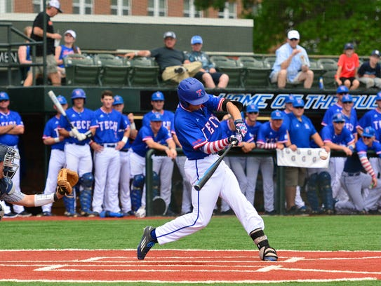 Louisiana Tech's Sean Ulrich had a pair of hits, including
