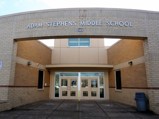 Stephens Middle School in Salem.