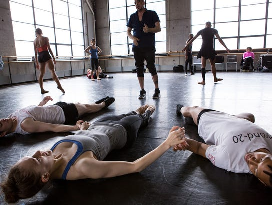 Dwight Rhoden (L), co-artistic director of Complexions