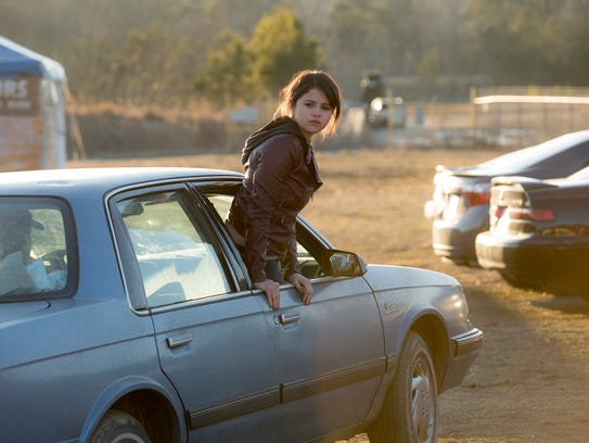 Selena Gomez in a scene from 'The Fundamentals of Caring'